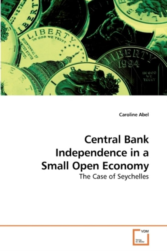 central bank independence Keywords: central bank independence, measures of central bank independence, federal reserve system, political economy of central bank policy, legal (de jure) versus actual (de facto) central bank independence, central.