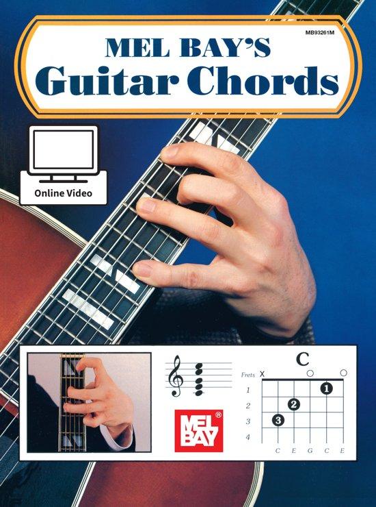 Bol Guitar Chords Ebook Mel Bay 9781513400228 Boeken