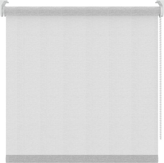 Rolgordijnen - Transparant wit - Lichtdoorlatend - 120x250 cm