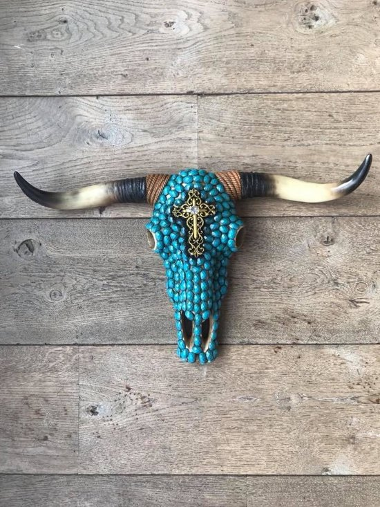 Skull stenen turquoise