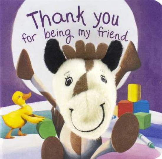 Bolcom Thank You For Being My Friend Finger Puppet Book