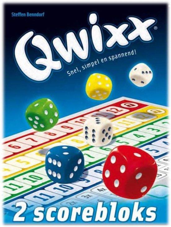Afbeelding van het spel Qwixx Bloks Uitbreiding