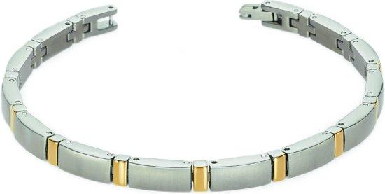 Boccia Titanium 0371-02 Armband - Titanium - Bicolor