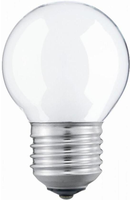 Top bol.com | Kogellamp - Gloeilamp - 15 Watt - Mat - E27 - (10 stuks) GO64