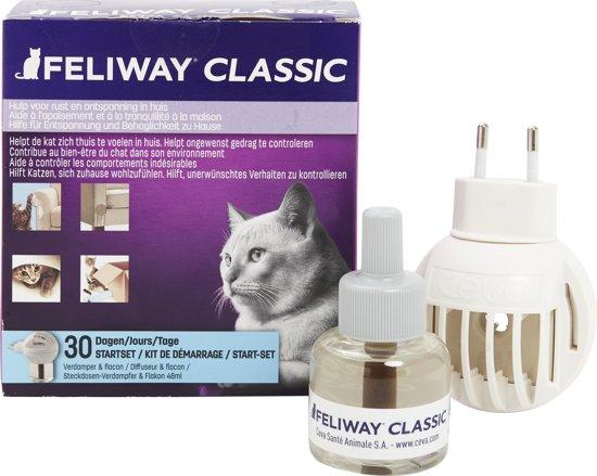 Feliway Classic - met Vulling - Kat - Starterset - 48 ml