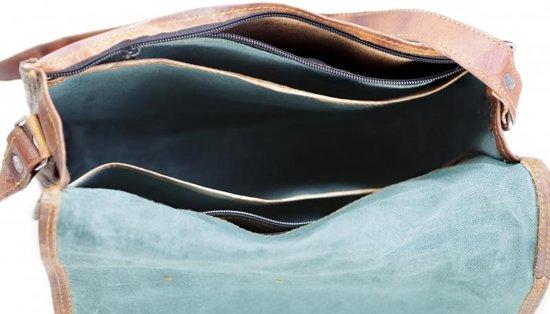 Handgemaakt Van 'almeria Round Echt Inch Laptoptas 15 Satchel Leer Tas OIRRq0