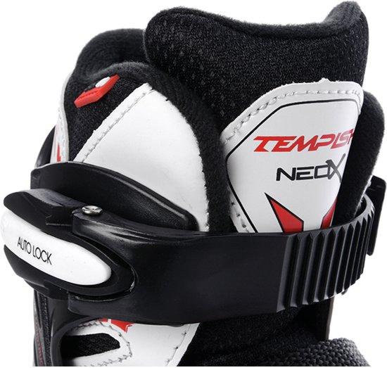 Tempish Skate/Schaats combo verstelbaar NEO-X DUO Zwart/Wit/Rood 33-36