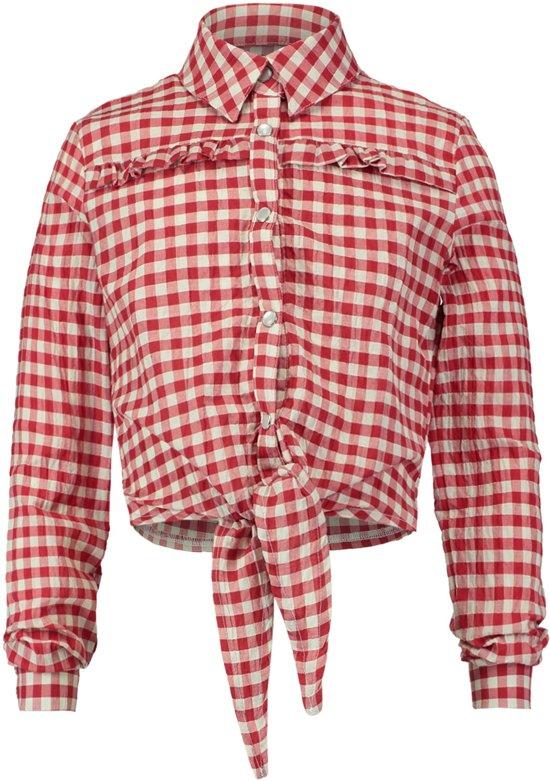 geruite blouse meisje
