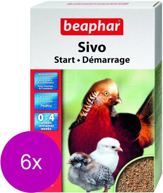 Beaphar Sivo Start - Kippenvoer - 6 x 1 kg
