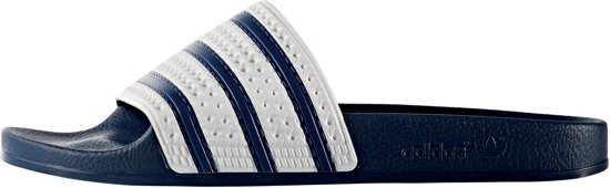Adilette Adi Blue 46 white Maat Slippers Adidas Unisex adxtppq