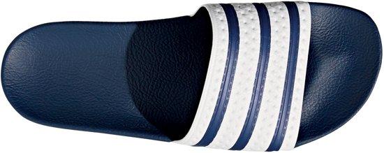 Slippers Adi Blue 46 Adidas Maat Adilette Unisex white fq4tZwU5x