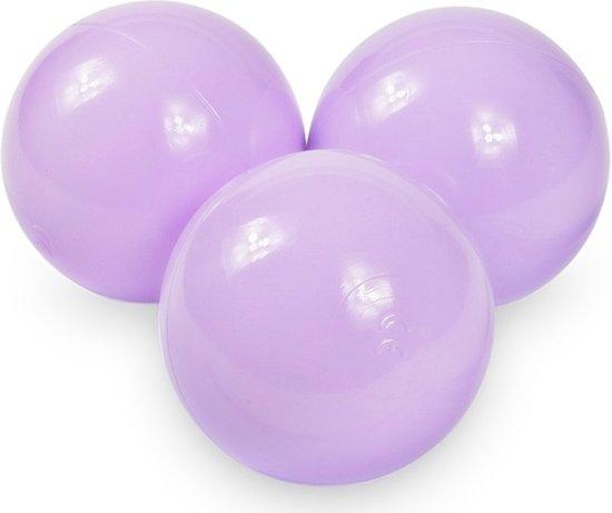 Ballenbak ballen licht paars (70mm) voor ballenbak 100 stuks