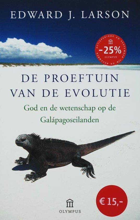 De proeftuin van de Evolutie - Edward J. Larson pdf epub