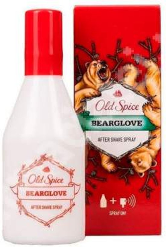 Old Spice Bearglove Aftershave Spray On 100ml