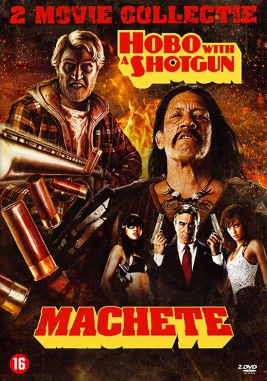Cover van de film 'Machete/Hobo With A Shotgun'