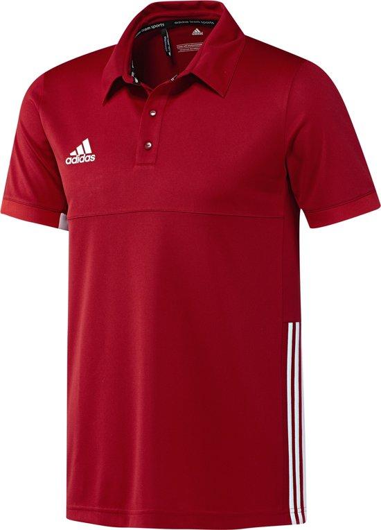 Adidas T16 'Offcourt' Team Polo Heren Shirts rood M