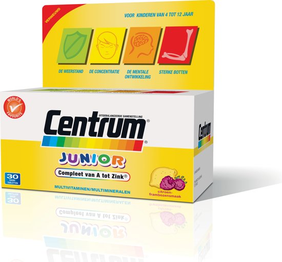 Centrum Junior - 30 Tabletten - Multivitaminen