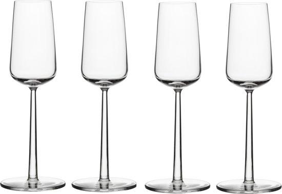 Iittala Essence Champagneglas - 21 cl - 4 stuks