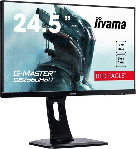 iiyama G-Master GB2560HSU-B1 - Gaming Monitor (144Hz)