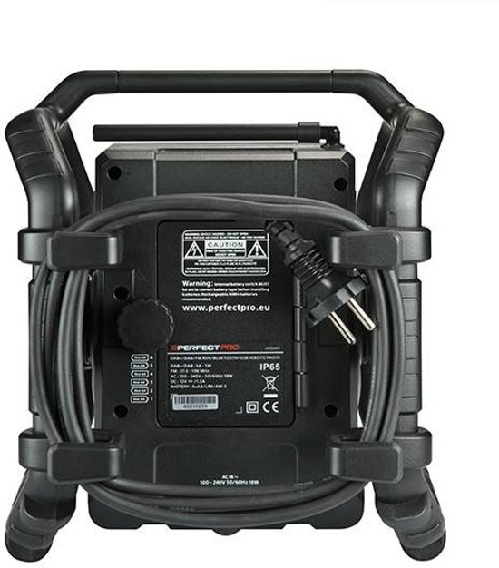 Perfectpro UBOX 500R - Bouwradio - Dab+ - Draadloze Speaker