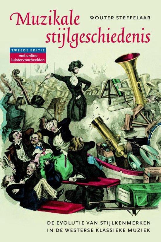 Boek cover Muzikale stijlgeschiedenis van Wouter Steffelaar (Paperback)