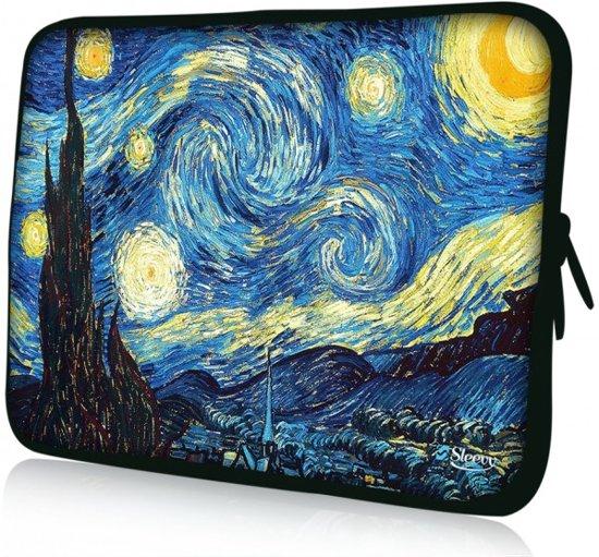 Sleevy 14  laptophoes schilderij