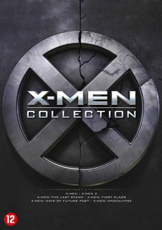 DVD cover van X-MEN - Collection 1 t/m 6