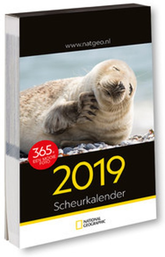 National Geographic scheurkalender 2018
