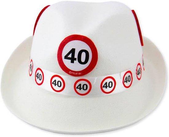 Hoed 40 Jaar Verkeersbord