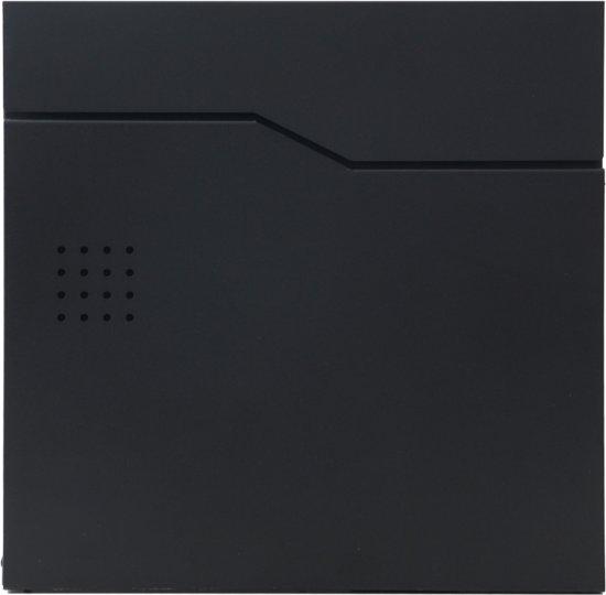 Brievenbus B30 zwart