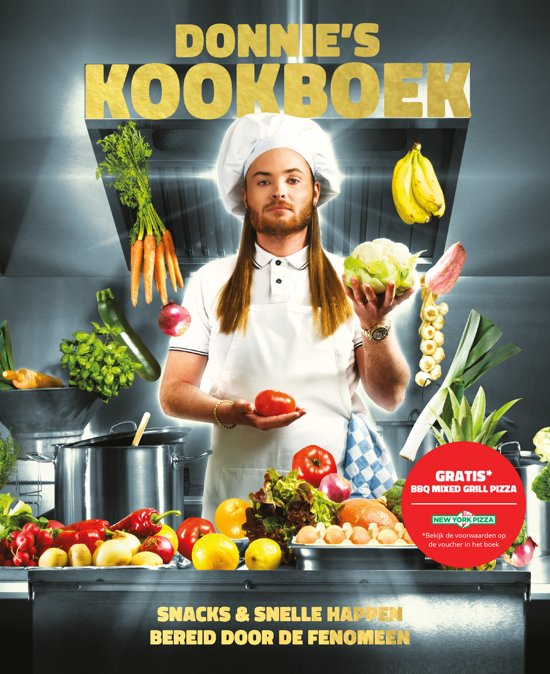 Boek cover Donnies kookboek van Donald Scloszkie (Hardcover)