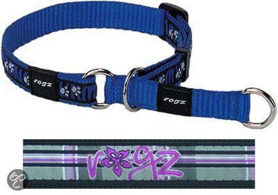 Rogz For Dogs Scooter Choker Floral Tartan 16 mmx31-45 cm