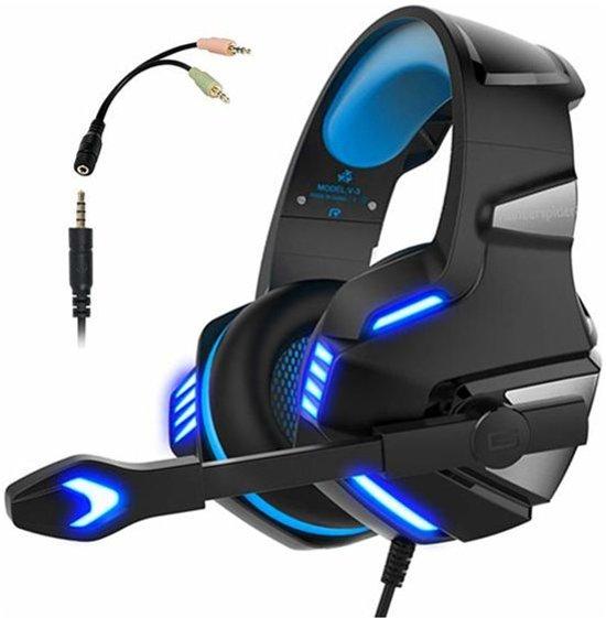 Cover van de game Hunterspider - Gaming Headset - PS4 - Zwart/Blauw