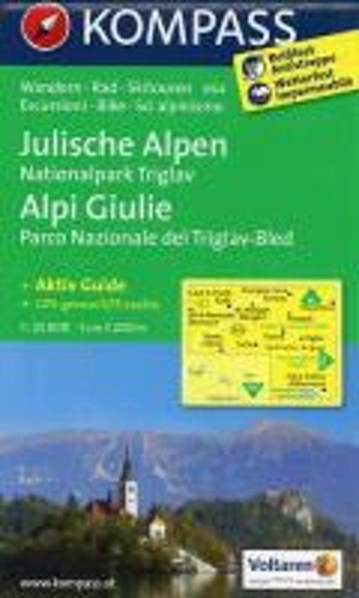 Kompass WK064 Julische Alpen, Nationalpark Triglav
