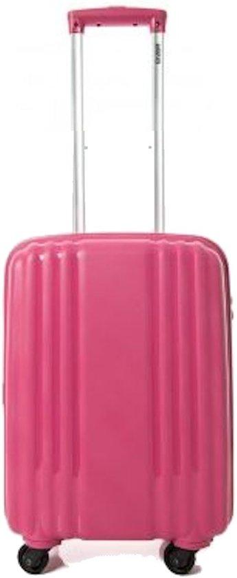 Enrico Benetti handbagage koffer Henderson fuchsia roze