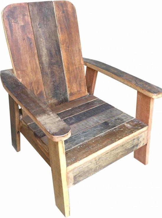 Otentic Design Loungestoel Kinder Zonnestoel Sloophout