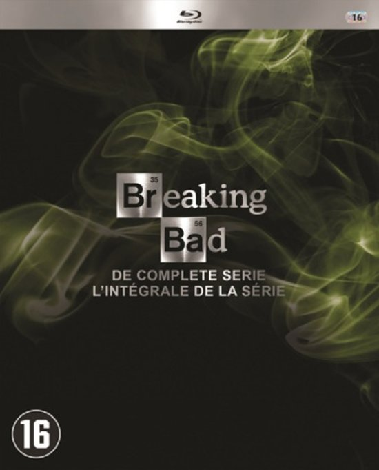 DVD cover van Breaking Bad - The Complete Collection (Blu-ray)