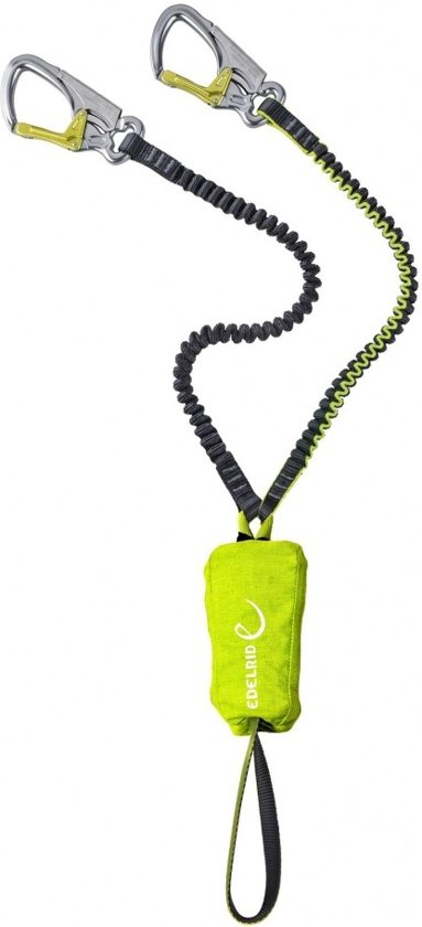 Edelrid Cable Lite 5.0 klettersteigset met elastische slinges