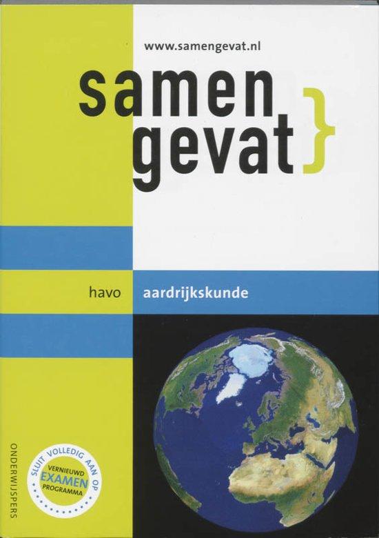 Boek cover Samengevat - HAVO -  Aardrijkskunde van H.J.C. Kasbergen (Paperback)
