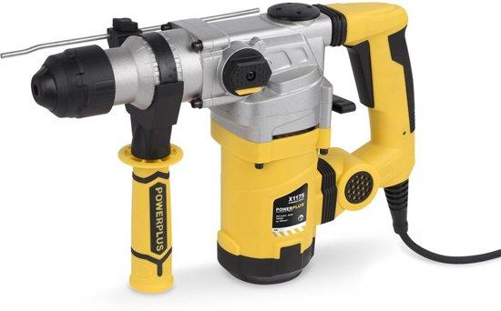 Powerplus POWX1175 Boorhamer - 1600 W - Incl. BMC-koffer, 3 SDS-boren en 2 SDS-beitels