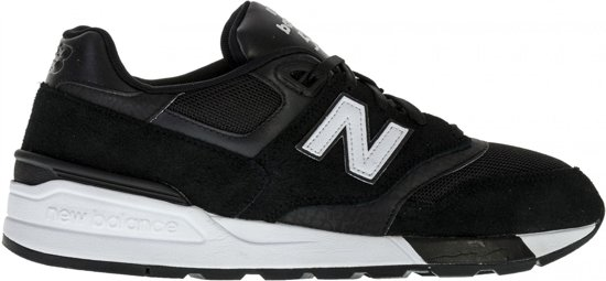 reputable site 5ed13 53e19 New Balance 597 Classics Traditionnels Sneakers - Maat 44.5 - Mannen - zwart