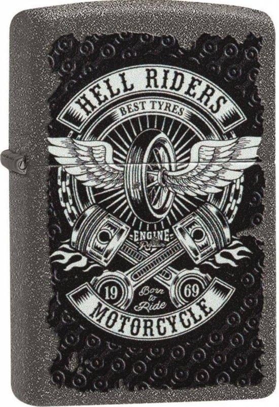 Aansteker Zippo Hell Riders Motorcycle