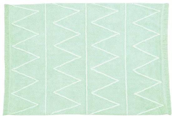 Vloerkleed Kinderkamer Hippy Mint - 160x120 cm
