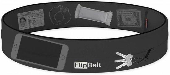 Flipbelt- Running belt - Hardloop belt - Hardloop riem - Carbon - M