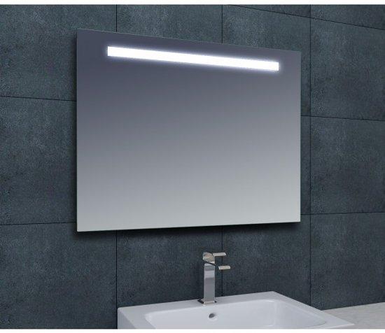 Badkamerspiegel Tigris 100x80cm Geintegreerde LED Verlichting Lichtschakelaar