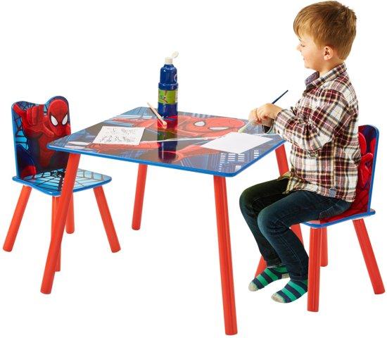 Kindertafel En Stoeltjes Cars.Tafel Met Stoeltjes Spider Man