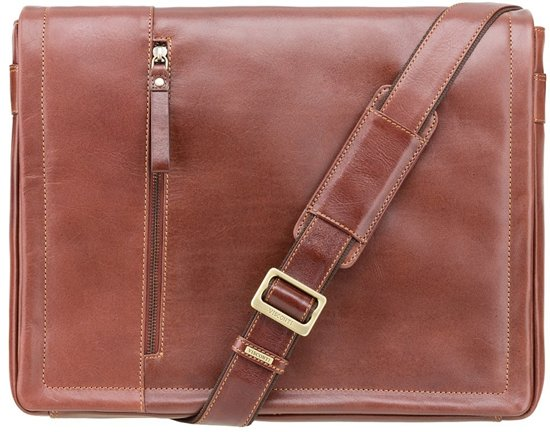 5bdd3ecf96e bol.com | Visconti Enzo Laptop Messenger Bag Vintage Tan