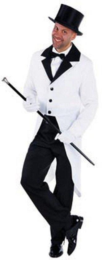 Witte slipjas voor heren Xl (60-62)