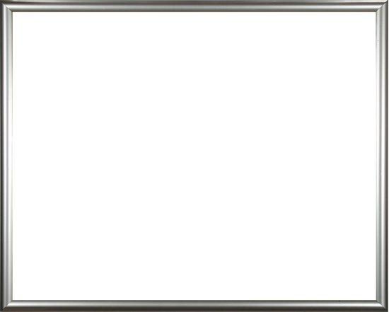 Homedecoration Biggy – Fotolijst – Fotomaat – 23 x 46 cm – Kunststof – Zilver