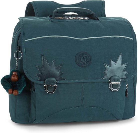 f71a695f188 bol.com | Kipling Iniko - Schooltas - Emerald Combo